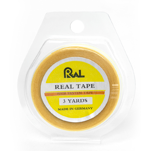 Ultra Hold Real Yellow Tape Roll - 1/4 Inch Wide, 3 Yards Toupee Tape Made In Germany