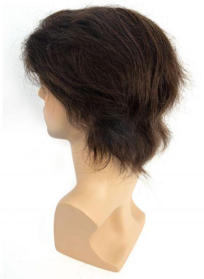 Toupeec Super Thin Skin Medium Density Stock Hair System for Men  - mens toupee hair