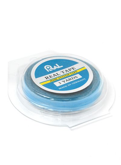 Ultra Hold Real Blue Tape Roll - 1/4 Inch Wide, 3 Yards Toupee Tape Made In Germany - mens toupee hair
