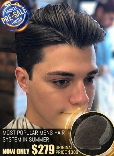 Pre-Sale Best Mens Hair Pieces For Comfort And Breathability Custom Made Lace Hair Systems Deposit Link - mens toupee hair