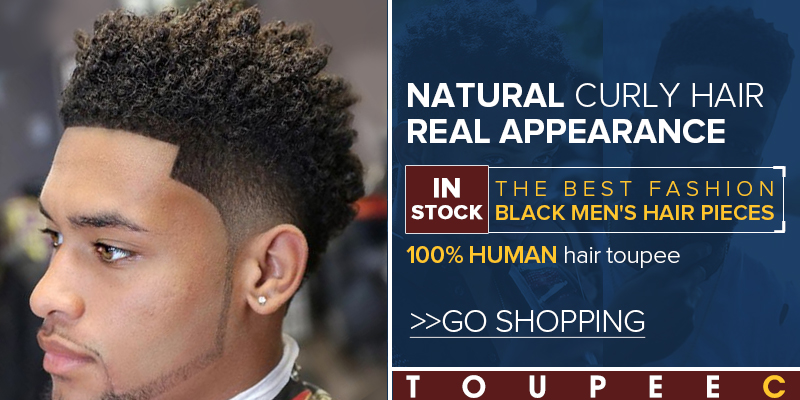 afro toupee hair pieces for men