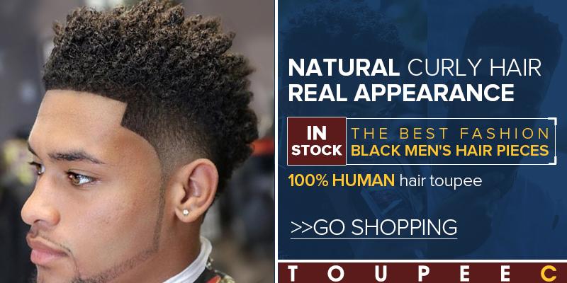 afro toupee hair pieces for men