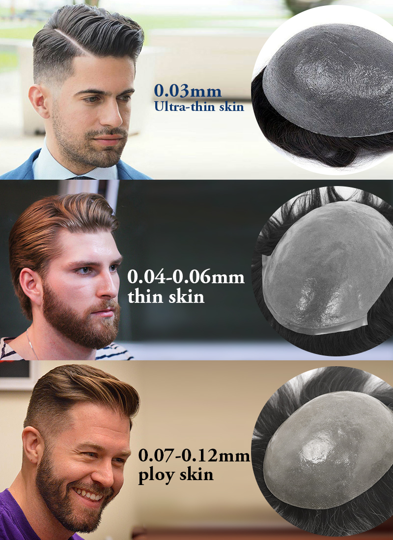Why Choose Skin Hair Systems For Men From Toupeec