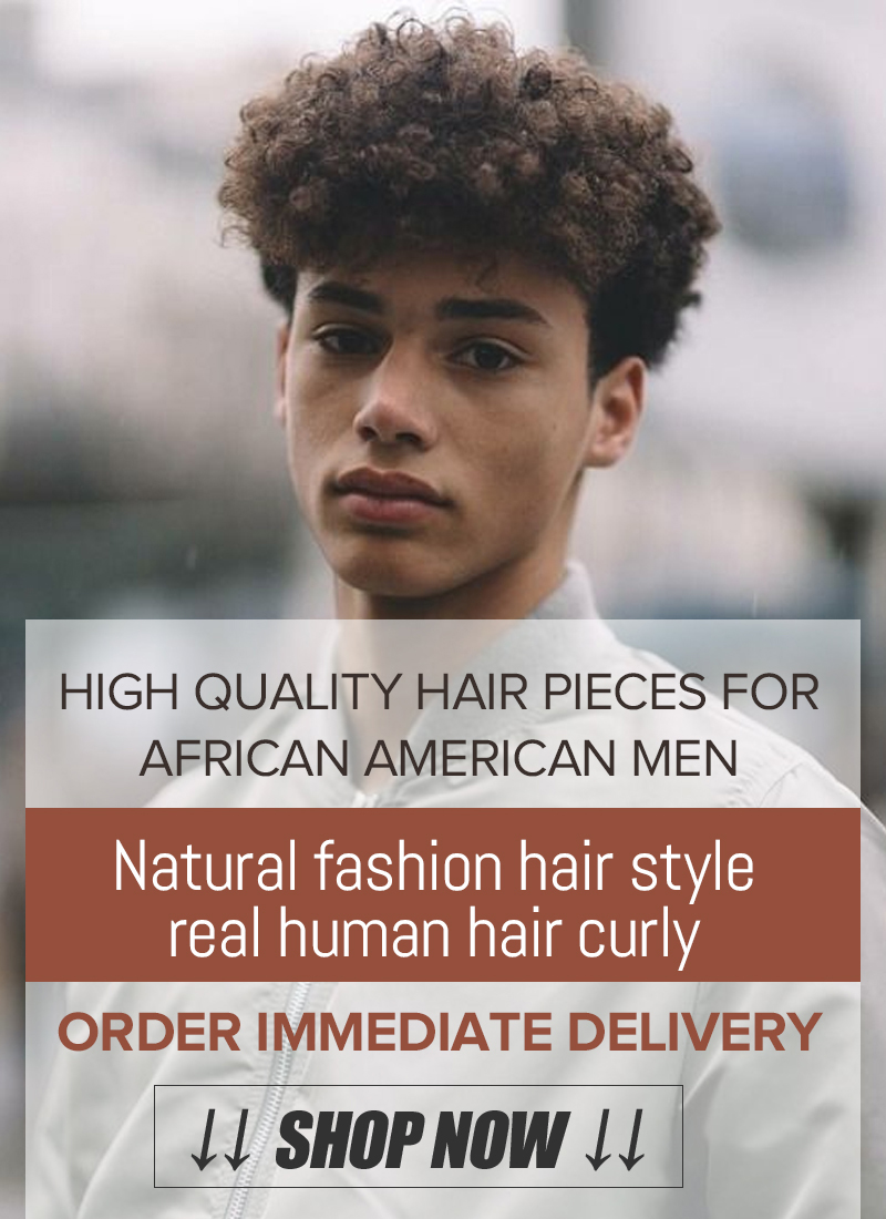 Men's Toupee Hair Pieces For Afro