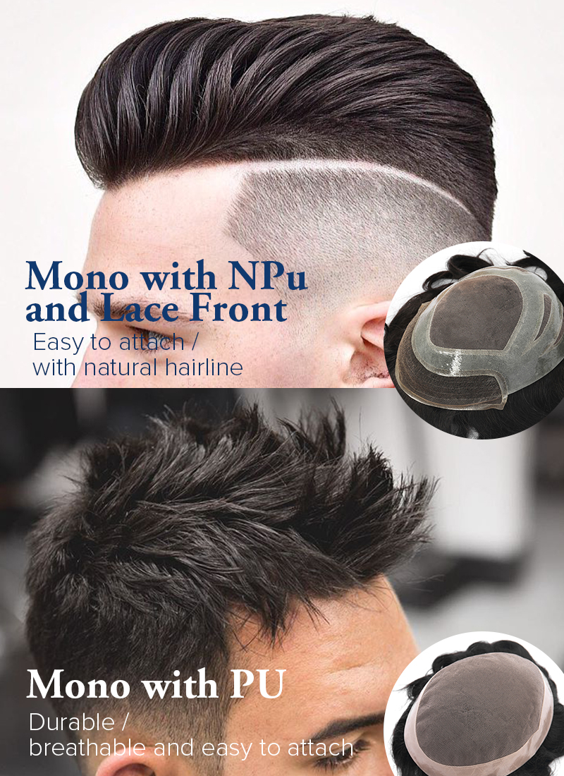 Why Choose Mono Hair Systems For Men From Toupeec