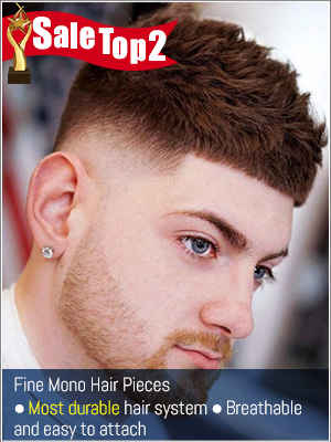 Most durable and breathable mono hair systems for men