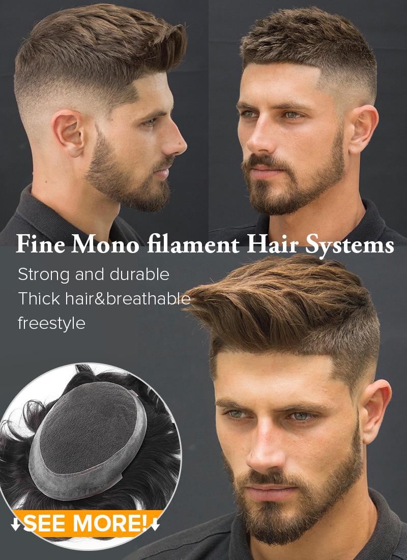 Monofilament Hair Systems