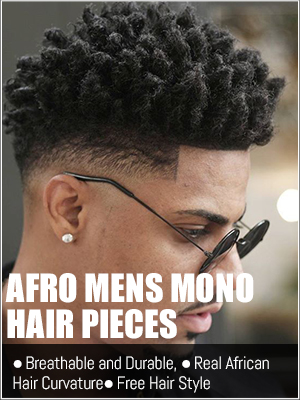 African mens hair replacement systems trend hair styling