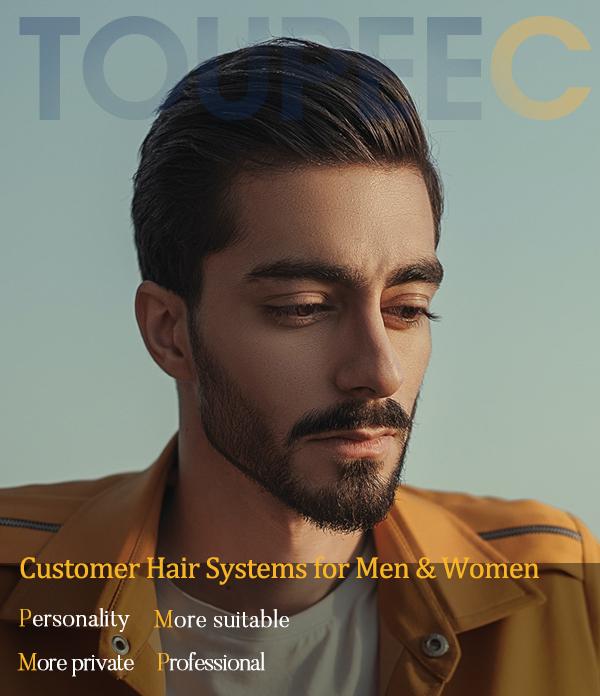 Custom-Made Hair Pieces For Men